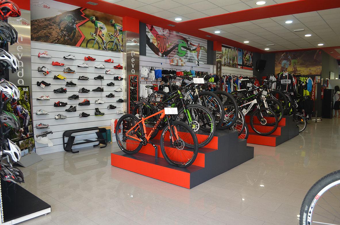 Nevada bike tienda bicicletas en granada e bikes for El mundo del mueble catalogo
